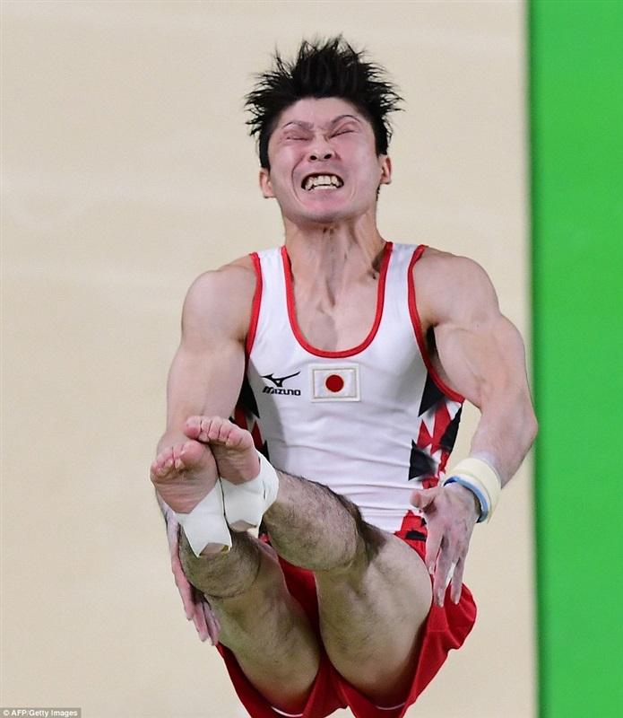 أطرف تعبيرات وجوه لاعبي الأوليمبياد2 - Copy