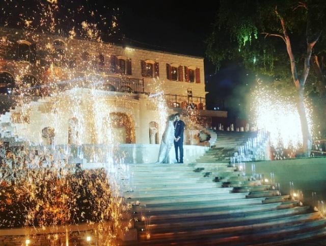 حفل زفاف أسطوري لـ«نادين نجيم» ملكة جمال لبنان2