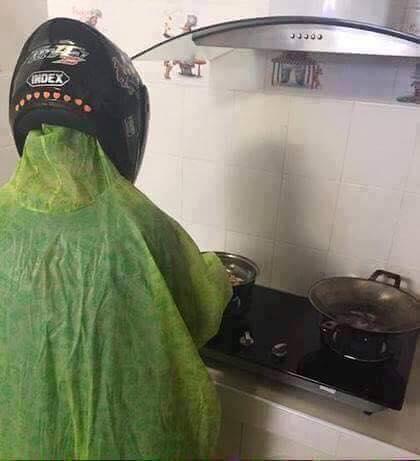 كوارث الرجال في المطبخ2