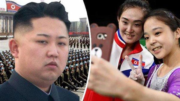 لاعبة جمباز كورية شمالية تواجه عقوبة الإعدام والسبب سيلفي