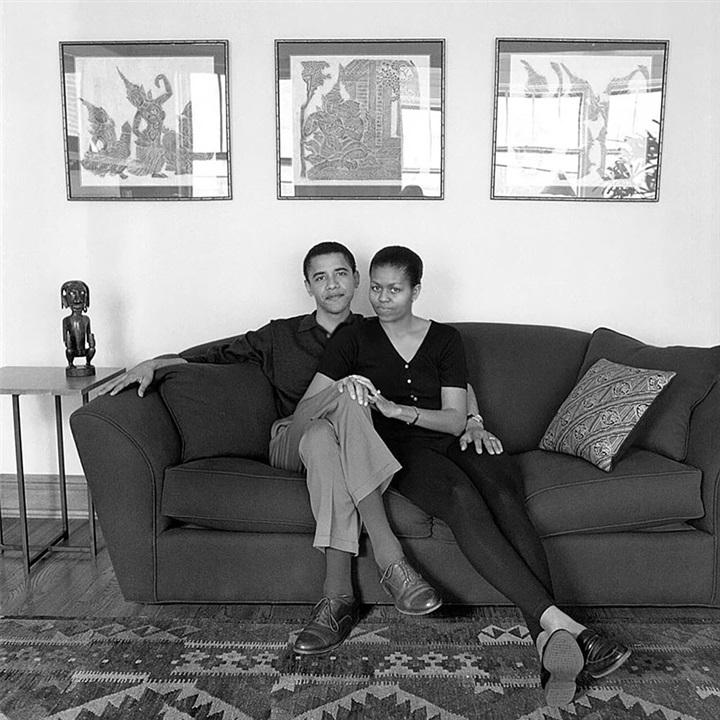 لقطات مذهلة لقصة حب باراك وميشيل أوباما من 1989 حتى الآن23