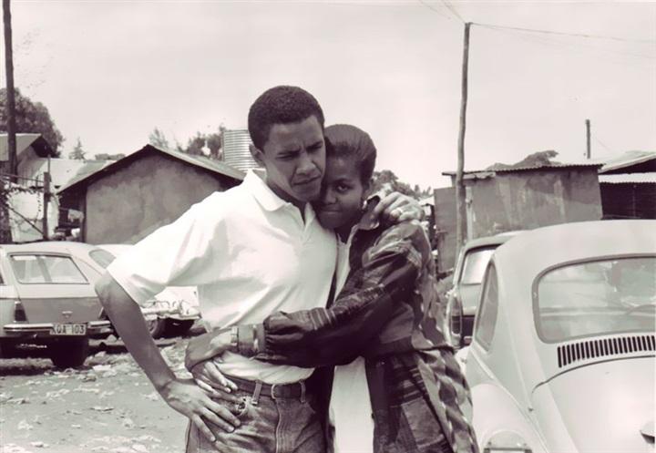 لقطات مذهلة لقصة حب باراك وميشيل أوباما من 1989 حتى الآن4