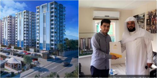 الشيخ العريفي يشتري شقة فاخرة في تركيا1