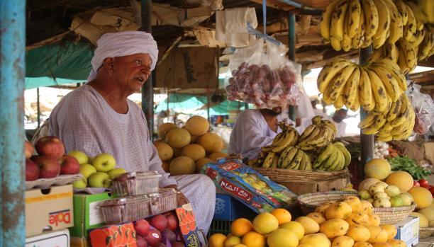 السودان خضار سوق شارع اسعار فواكة بيع دكان