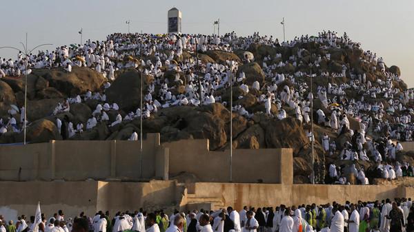 حج حجاج حجيج مكة عرفات جبل