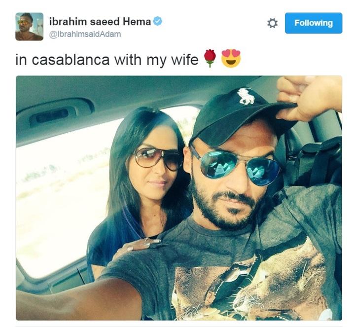 سيلفي إبراهيم سعيد وزوجته بالمغرب يجذب آلاف المعجبين