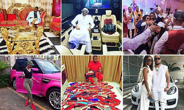 مظاهر الثراء الفاحش عند الشباب في نيجيريا
