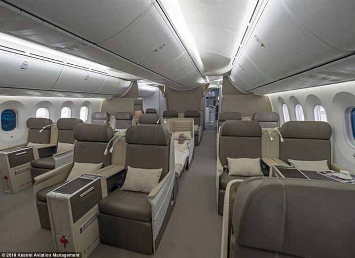 أفخم طائرة خاصة في العالم1