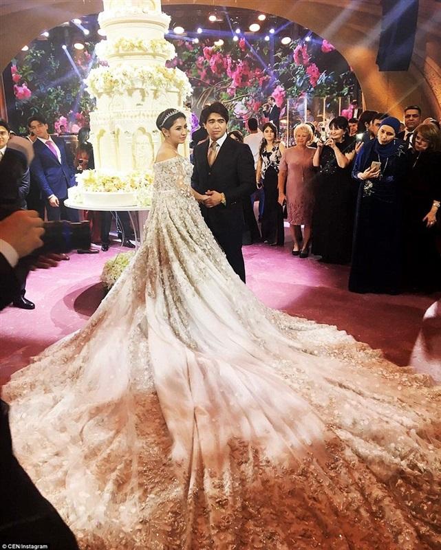 أغلى حفل زفاف لابنة مليونير روسي3