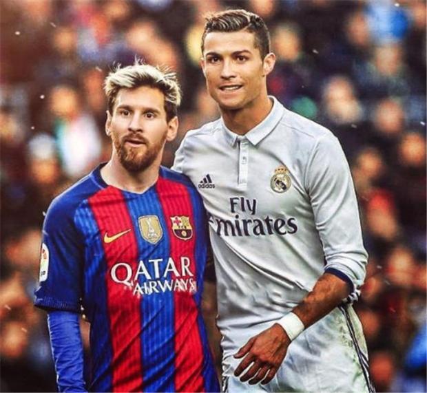 ميسي وكريستيانو رونالدو قدما درسا في الروح الرياضية - كلاسيكو - كرستيانو - برشلونة - ريال مدريد