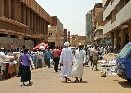الخرطوم - السوق - السودان - الشارع - مواطنين - جاكسون - العربي