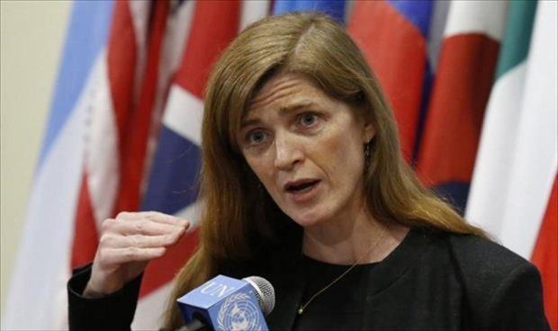 مندوبة الولايات المتحدة في مجلس الأمن سامنثا باور