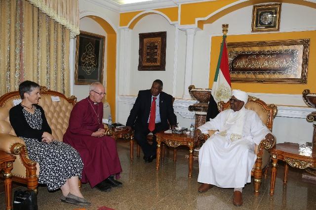 كبير أساقفة كانتربيري يعلن بداية جديدة للمسيحية في السودان