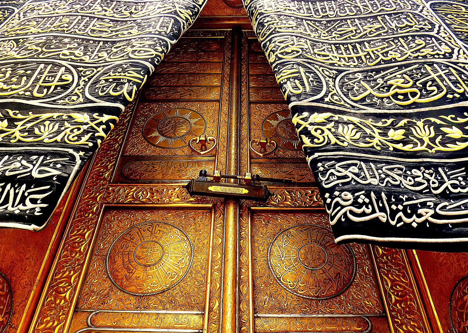 the door of kaaba makkah muazama1