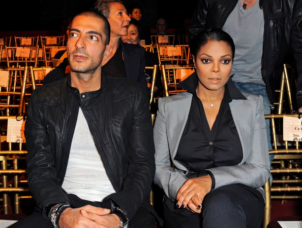 جانيت جاكسون وزوجها الملياردير القطري
