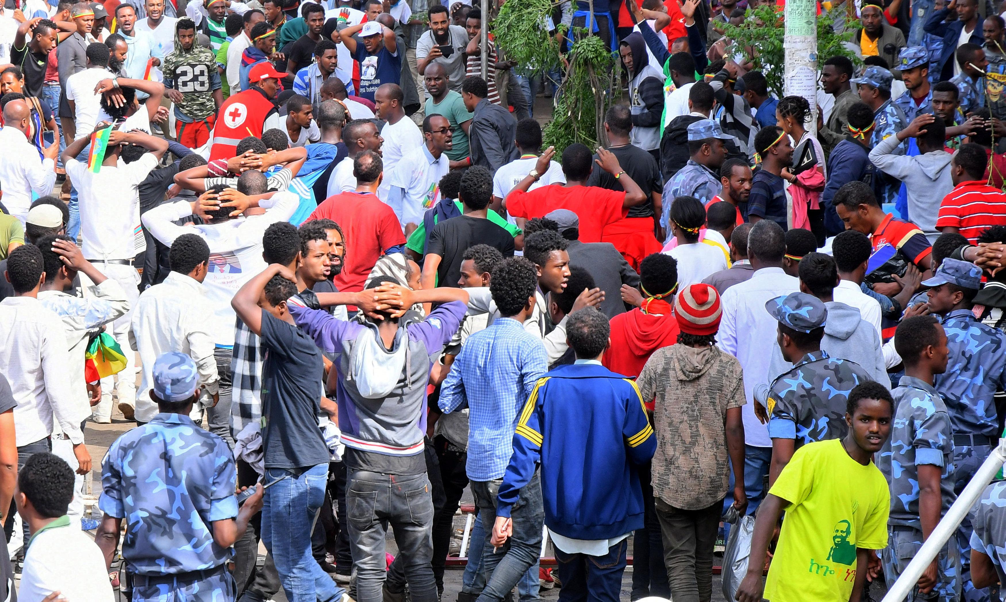 تفجير اثيوبيا