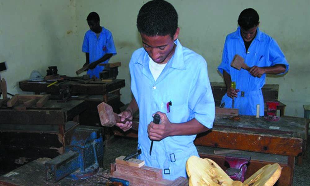 مدرسة -حرفي - فني - صنابعي - صناعي - مهنة