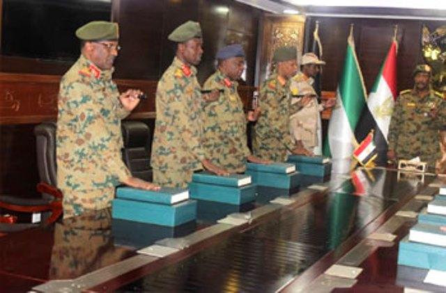 المجلس العسكري الجديد