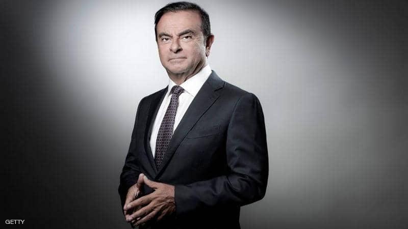 كارلوس غصن الرئيس السابق لشركة نيسان موتور