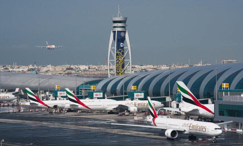 مطار دبي طيران الإمارات