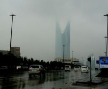 بالفيديو والصور.. أمطار غزيرة على مدينة الرياض منذ البارحة حتى صباح اليوم