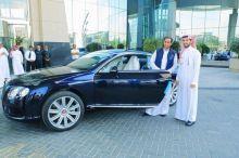 سامي الجابر : تسلمت اليوم هدية الأمير الوليد بن طلال وسأحتفظ بها كأهم تقدير طوال مشواري