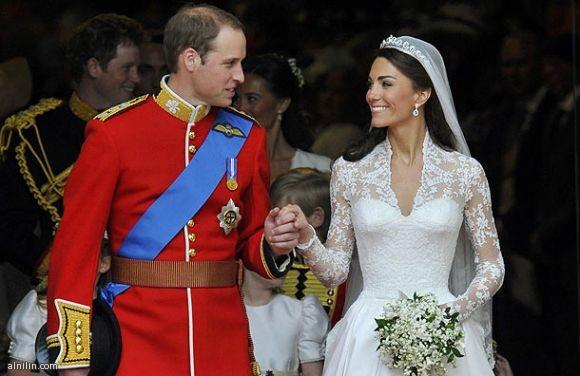 زواج الامير ويليام وكيت ميدلتون الجمعة 29-4-2011