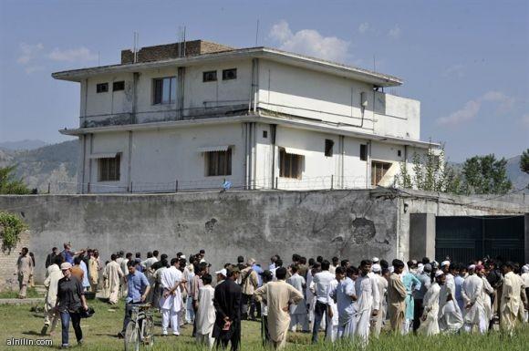 المجمع السكني الذي قتل فيه بن لادن في باكستان
