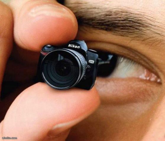 اصغر كاميرا بالعالم من شركة نيكون Nikon