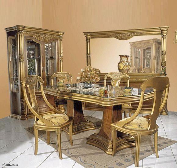 طقم صفره بالون الذهبي الروعه وجميع اثاث القعده