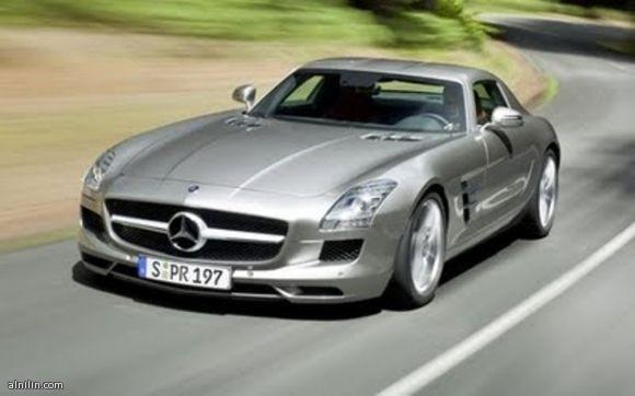 مرسيدس بنز ايه ام جي  Mercedes-Benz-SLS-AMG