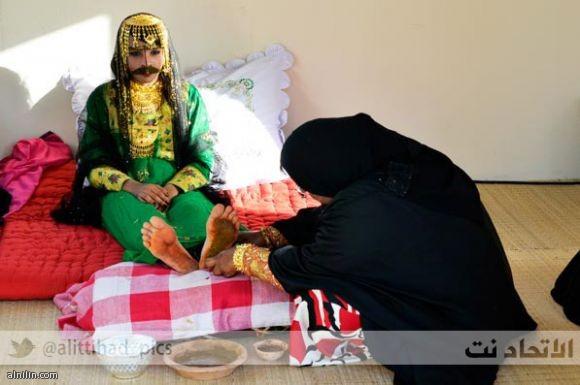 حنة العروس - زواج إماراتي من الزمن الجميل - مارس 2013م