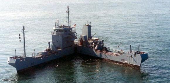 سفينة الـPac-Man.. لابتلاع البقع النفطية في خليج المكسيك