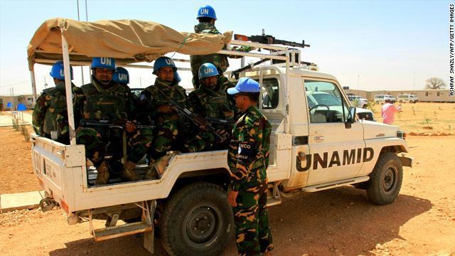 جنود اليوناميد يغتصبون نساء في دارفور