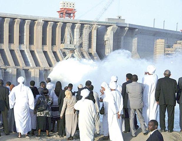 نجاح تجربة تشغيل توربينات سد مروي دون حدوث قطع للإمداد الكهربائي في البلاد