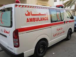 حادث حركة مروع بشارع السيد عبد الرحمن بين حافلة (كريز) وعربة (اكسنت) أسفر عن إصابة العشرات من الركاب